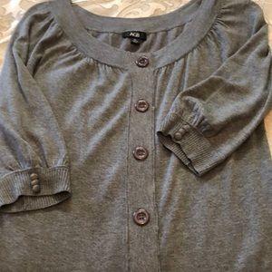Beautiful gray sweater top